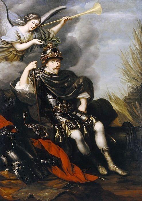 Gustav II Adolf (1594-1632), King of Sweden. David Klöcker Ehrenstråhl (Attributed)