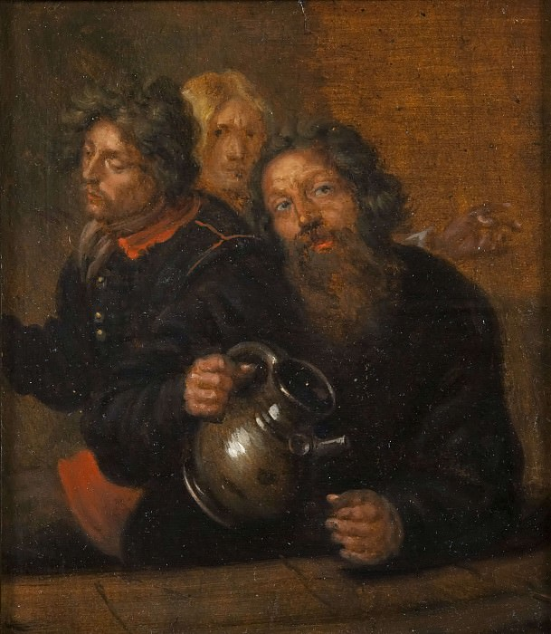 The Well-Master at Medevi and His Sons. David Klöcker Ehrenstråhl (After)
