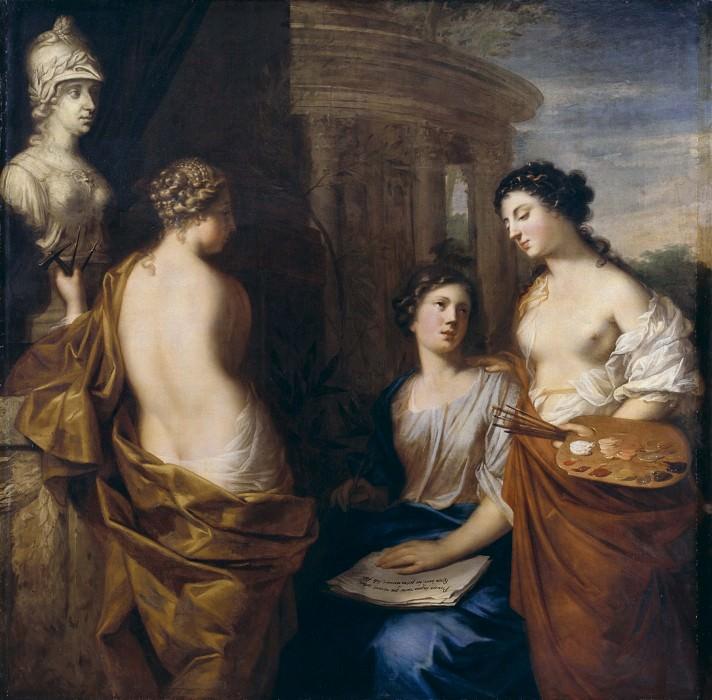 The Arts Round the Bust of Queen Kristina of Sweden. David Klöcker Ehrenstråhl