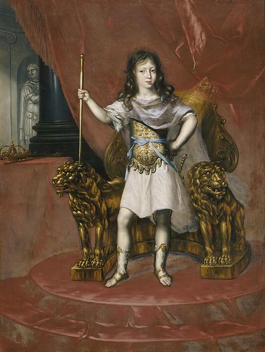 Karl XI (1655-1697), king of Sweden pfalzgreve of Zweibrücken. David Klöcker Ehrenstråhl (Attributed)
