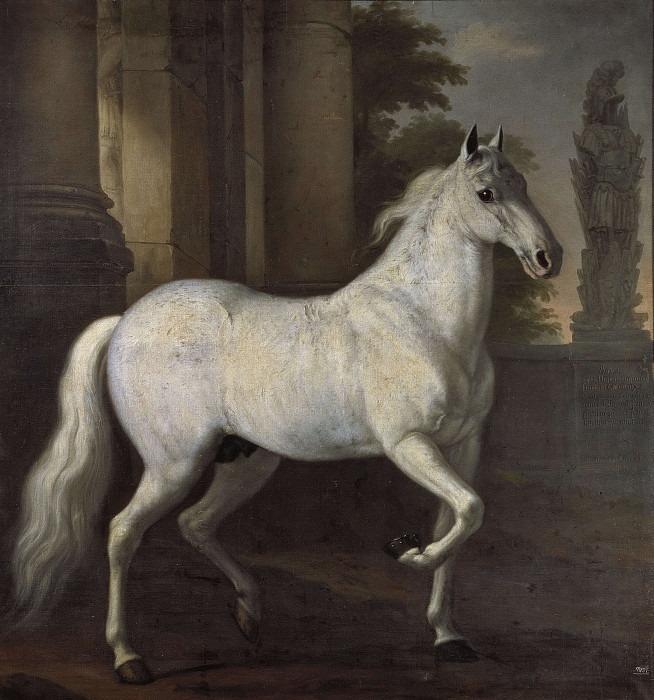 Karl XI's life horse Brilliant. David Klöcker Ehrenstråhl