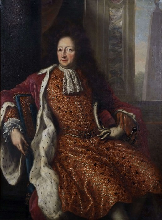 Hans Wachtmeister of Johannishus (1641-1714). David Klöcker Ehrenstråhl (Attributed)