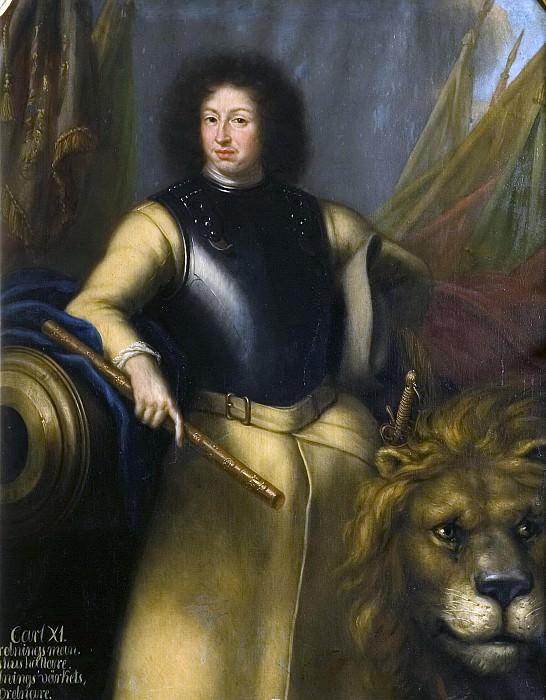 Karl XI (1655-1697), King of Sweden, Palatinate, Grave of Zweibrücken. David Klöcker Ehrenstråhl (Attributed)