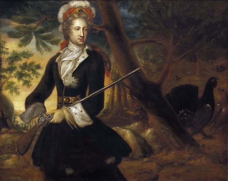 Hedvig Sofia (1681-1708), Princess of Sweden, Duchess of Holstein-Gottorp. David Klöcker Ehrenstråhl (Workshop)