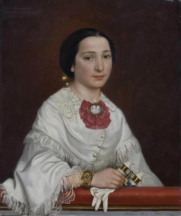 Maria Ricci, gm artist Carl Gustaf Plagemann. Emma Ekwall