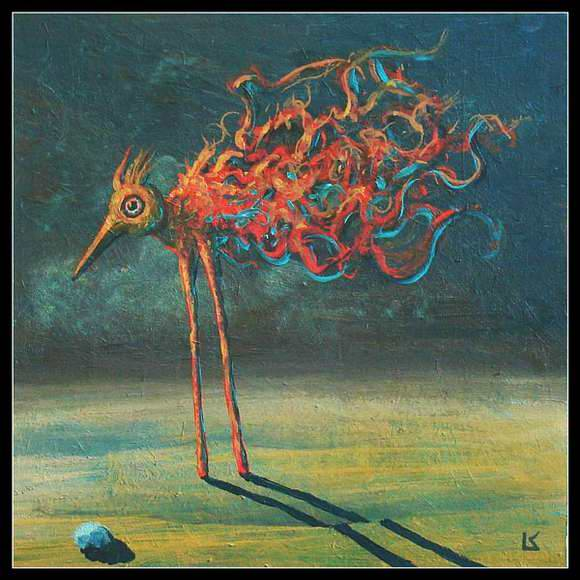 Desert bird. K. Frodo