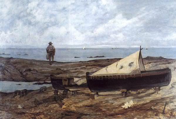 Giornata grigia (1893) Livorno, Museo Fattori. Giovanni Fattori