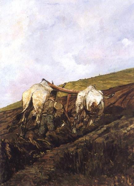 Laratura (1881-82) Collezione Privata. Giovanni Fattori