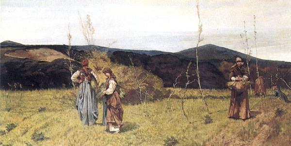 Le Macchiaiole (1865) Collezione Privata. Giovanni Fattori