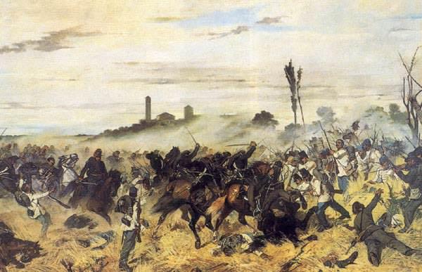 Carica di cavalleria a Montebello (1862) Livorno, Museo Fatt. Giovanni Fattori