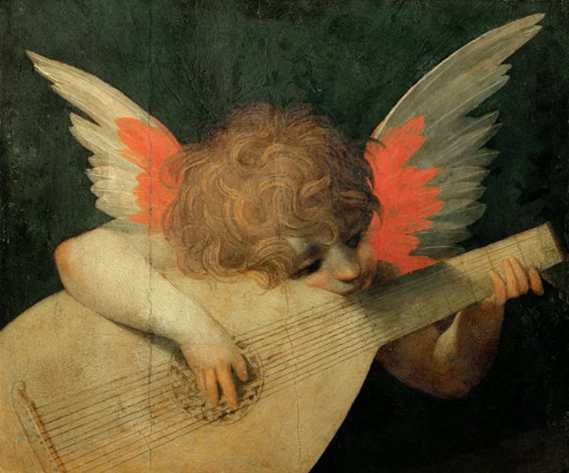 Ангел Музыкант. Джованни Баттиста Россо Фьорентино