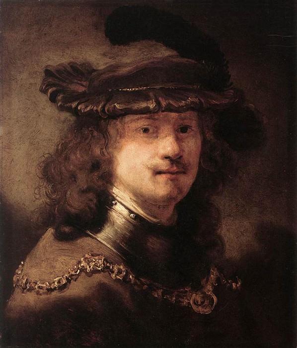 FLINCK Govert Teunisz Portrait Of Rembrandt. Говерт Флинк