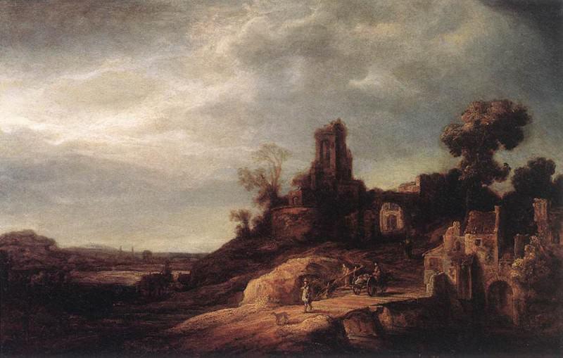 FLINCK Govert Teunisz Landscape. Govert Teunisz Flinck