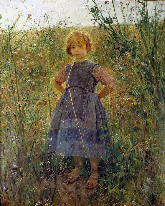 Юная принцесса лугов. Фриц фон Уде