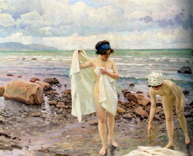Badende Kvinder (The Bathers). Paul Fisher