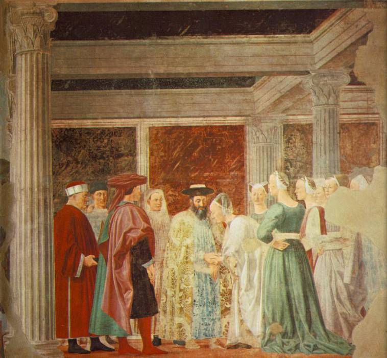 meeting. Piero della Francesca