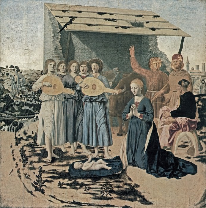 Рождество Христово. Пьеро делла Франческа