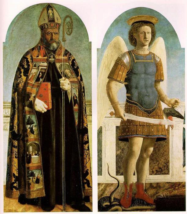 Polyptych Of Saint Augustine. Piero della Francesca