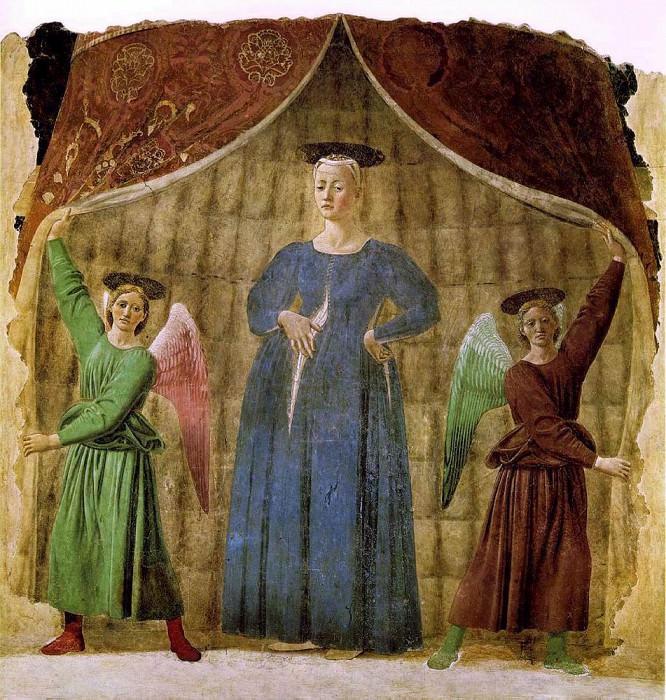 Madonna Del Parto. Piero della Francesca