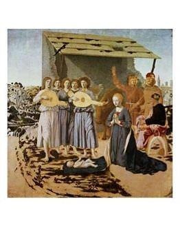 5240-Nativity-1470-75-Posters. Piero della Francesca