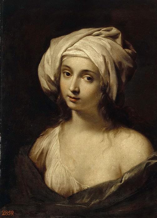 Портрет девушки в тюрбане. Марко Антонио (Маркантонио) Франческини