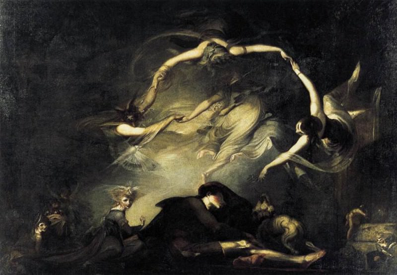 The Shepherds Dream. Henry (Fussli Fuseli
