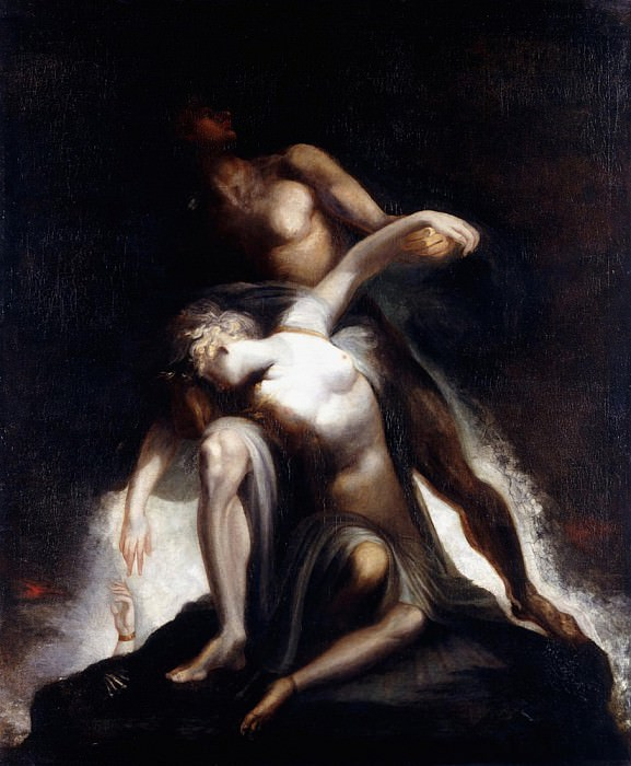 The Vision of the Deluge. Henry (Fussli Fuseli