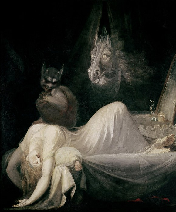 The Nightmare. Henry (Fussli Fuseli