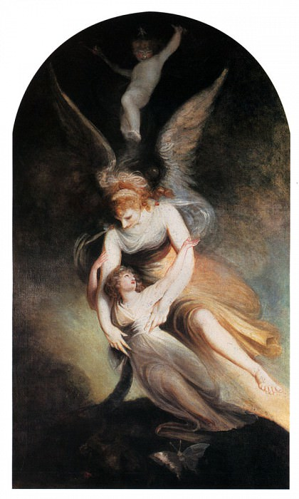 The Apotheosis Of Penelope Boothby. Henry (Fussli Fuseli