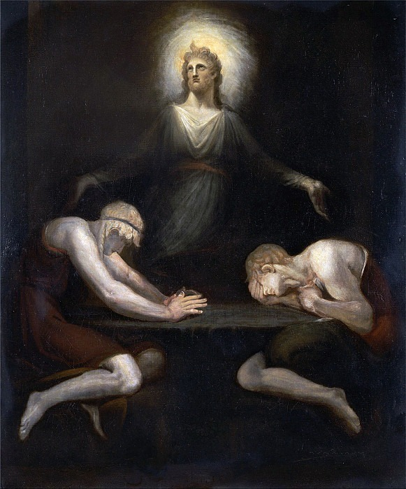 The Appearance of Christ at Emmaus. Henry (Fussli Fuseli