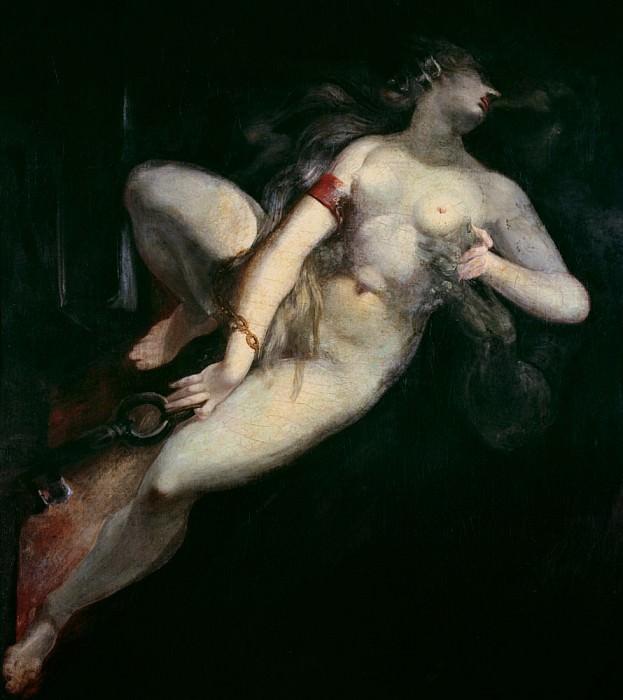 Sin Pursued by Death. Henry (Fussli Fuseli