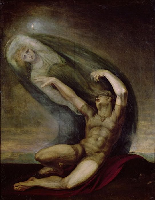Achilles Searching for the Shade of Patrocles. Henry (Fussli Fuseli