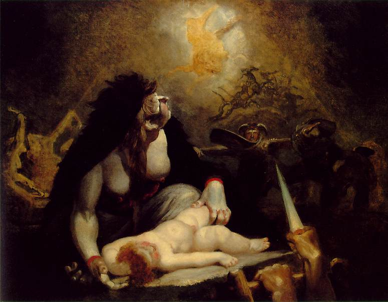 The Night-Hag Visiting the Lapland Witches. Henry (Fussli Fuseli