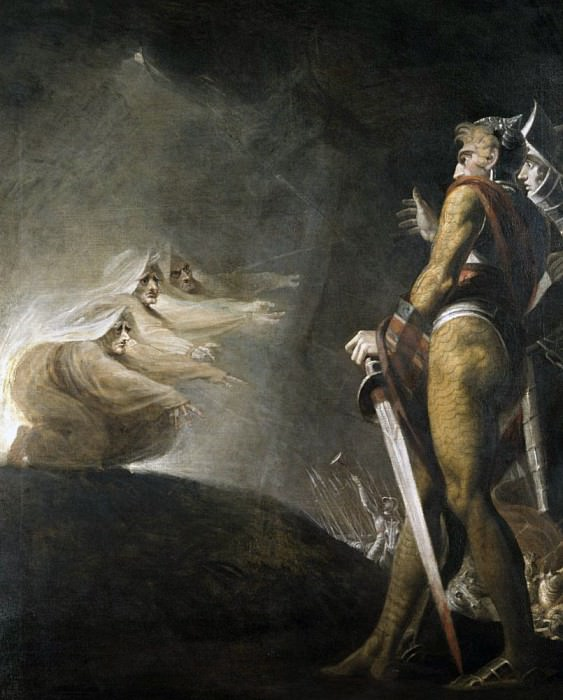 Macbeth and the Witches. Henry (Fussli Fuseli