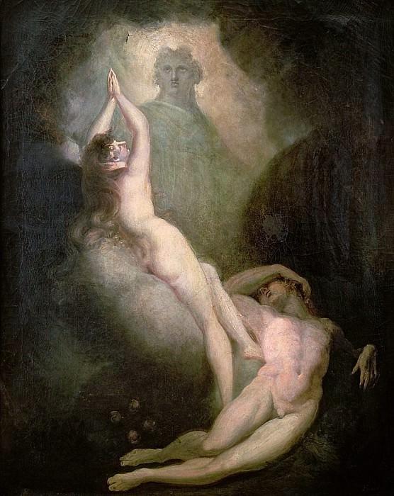 Создание Евы. Генрих Фюсли