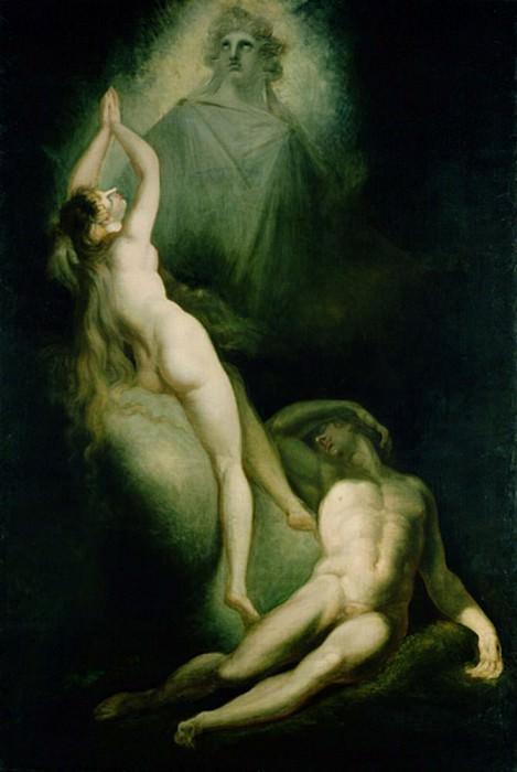 The Creation of Eve. Henry (Fussli Fuseli