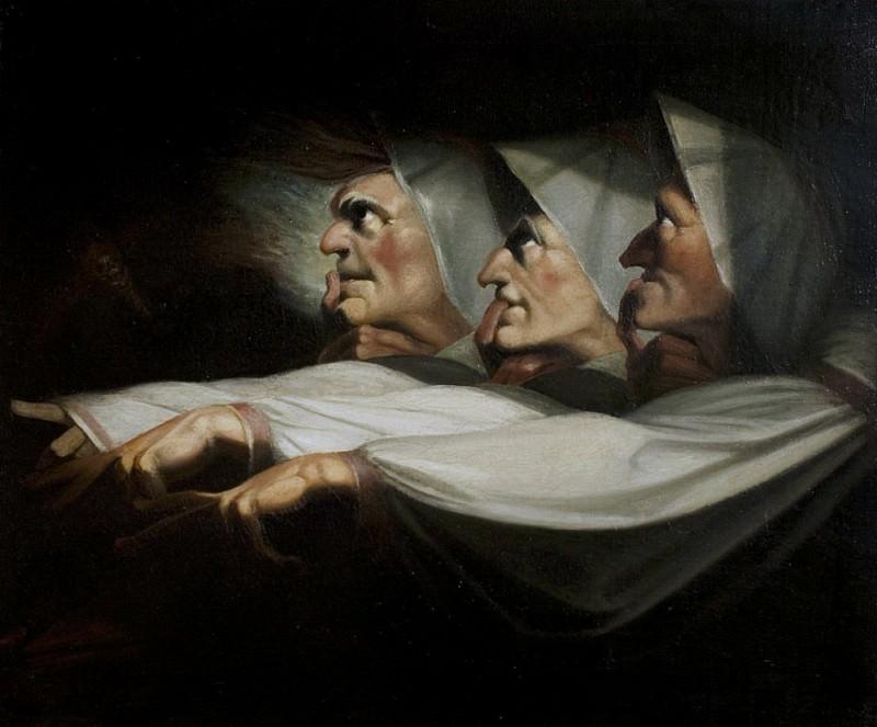 Macbeth, Act I, Scene 3 the Weird Sisters. Henry (Fussli Fuseli