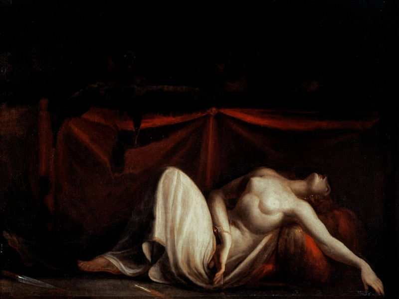 Assassinated Woman and the Furies. Henry (Fussli Fuseli