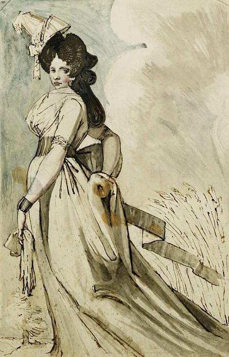 A Lady Walking. Henry (Fussli Fuseli