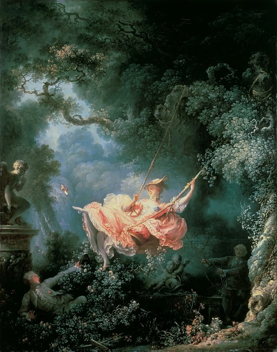 The Swing. Jean Honore Fragonard