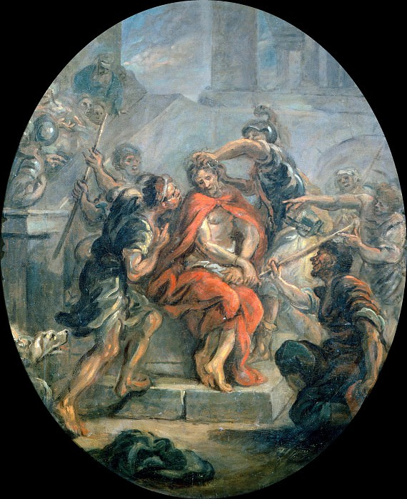 The Mocking of Christ (study). Jean Honore Fragonard