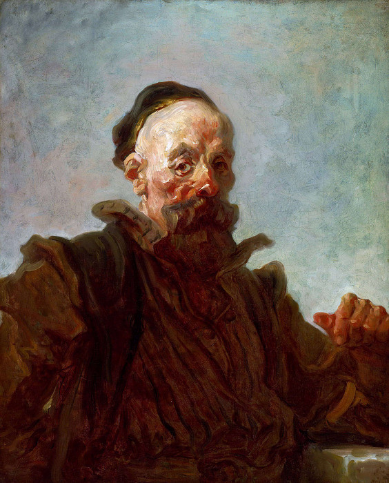 Man in Spanish Costume. Jean Honore Fragonard
