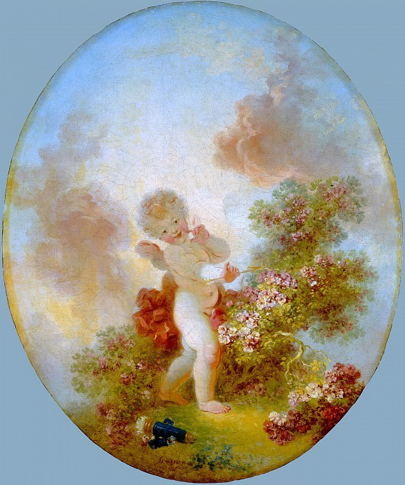 Love the Sentinel. Jean Honore Fragonard