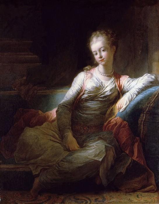Sultana. Jean Honore Fragonard