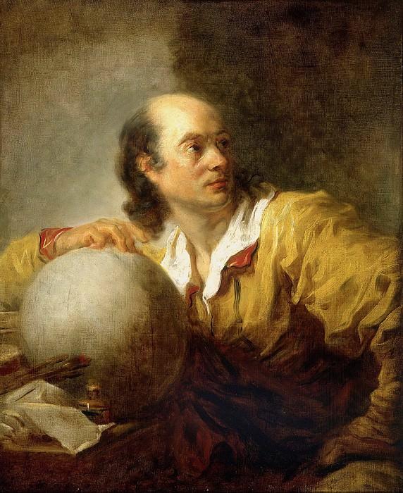 Jerome de La Lande (1732-1807). Jean Honore Fragonard