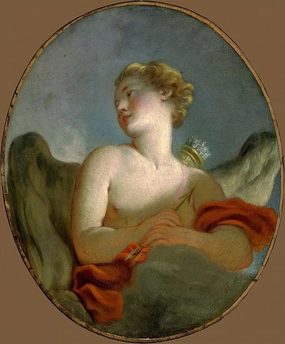 Marie-Catherine Rombocoli-Riggieri Colombe as Cupid. Jean Honore Fragonard