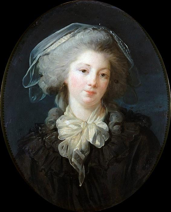 Charlotte-Francoise Bergeret de Norinval. Jean Honore Fragonard