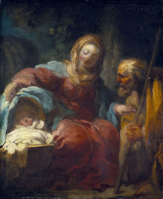The Rest on the Flight into Egypt. Jean Honore Fragonard