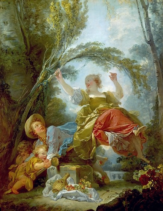 The See-Saw. Jean Honore Fragonard