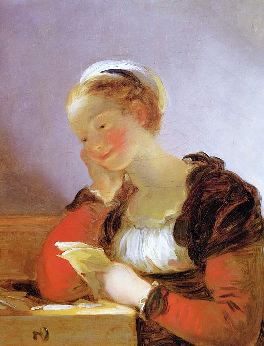 The Letter. Jean Honore Fragonard